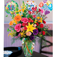 Birthday Flowers - Venezuela
